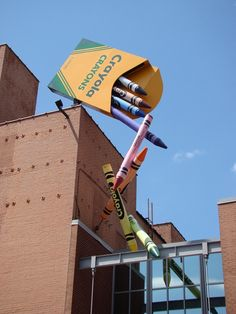 Crayola Factory -- awesome time for all ages.