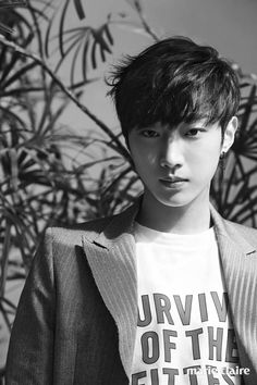 Jinyoung (B1A4) - Marie Claire Magazine March Issue '17