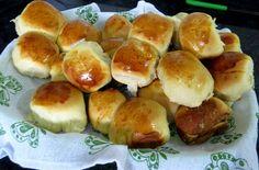 Pão doce fácil  rápido | Doces e sobremesas > Sobremesas Rápidas | Receitas Gshow Pretzel Bites, Hot Dog Buns, Mousse, Hamburger, Muffins, Food And Drink, Pizza, Bread, Crepes