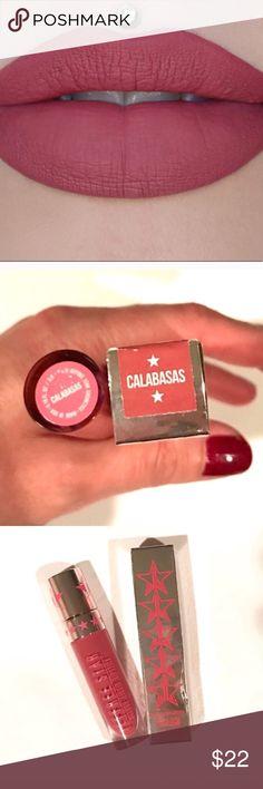 """Calabasas"" Jeffree Star Velour liquid lipstick BRAND NEW/AUTHENTIC/NO TRADES ""Calabasas"" Jeffree Star Velour liquid lipstick. **SOLD OUT ONLINE** Jeffree Star Makeup Lipstick"