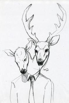 Deer oh deer visual-gluttony