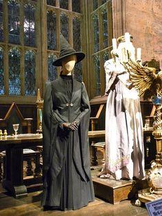 Harry Potter studio tour: Professor McGonagall costume | Flickr - Photo Sharing!