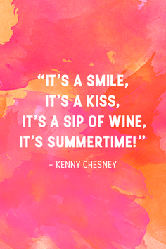 A message that we can all get behind. Thanks, Kenny Chesney for this inspirational quote!