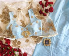 Mani Jassal @manikjassal • beautiful cape!!!! Sari Blouse Designs, Saree Blouse Patterns, Designer Blouse Patterns, Blouse Styles, Indian Attire, Indian Wear, Indian Dresses, Indian Outfits, Anarkali