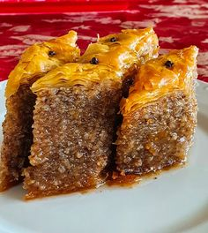 Greek Sweets, Greek Desserts, Greek Recipes, My Favorite Food, Favorite Recipes, Delicious Desserts, Dessert Recipes, Cinnamon Cake, Greek Dishes
