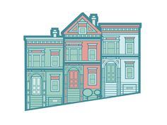 The Painted Ladies of San Francisco by patrick allison
