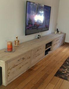Eiken tv meubel van CustomThijs