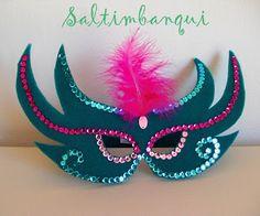 Mardi Gras Mask Template, Masquerade Mask Template, Masquerade Masks, Cool Paper Crafts, Diy And Crafts, Crafts For Kids, Carnival Crafts, Carnival Masks, Diy Mask
