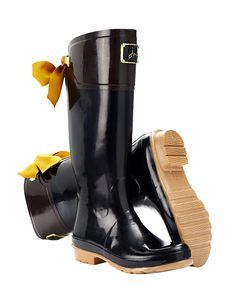 "SO CUTE!! I did a ""live chat"" with their cust svc and these wellies are $127USD - Joules Ladies' Wellington Boots"