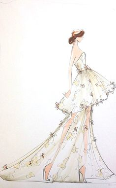 First Look: Christian Siriano's Spring 2014 Collection—See His Sketches Before…