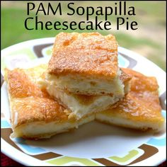 PAM® Sopapilla Cheesecake Pie -  Easy & delicious dessert anytime of day. #Ad #PAMcookingspray