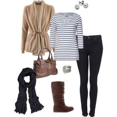 What I wore today, Polyvore version :), created by jillmarie-1