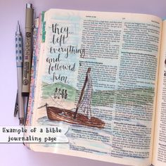Journaling Bible Hand Painted Cover Hand by LoveLetteredByBekki