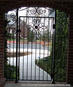 Custom Wrought Iron Gates In Raleigh NC, Durham