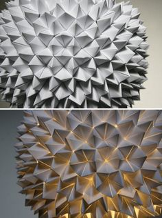35 Lovely DIY Paper Lamps | Daily source for inspiration and fresh ideas on Architecture, Art and Design