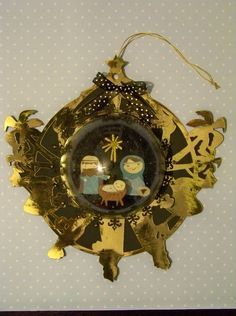 With Glittering Eyes: Christmas Ornaments - Window and Dome