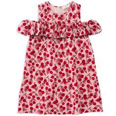 3f7cdaf35cb kate spade new york Girls  Cherry-Print Ruffle-Sleeve Dress - Big Kid Kids  - Girls - Girls - Dresses   Rompers - Bloomingdale s