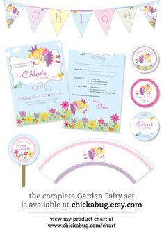 garden fairy printables