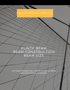 what is plinth beam? plinth beam construciton work Concrete Ratio, Concrete Column, Modern Main Gate Designs, Pillar Design, House Map, House Elevation, New House Plans, How To Level Ground, Beams