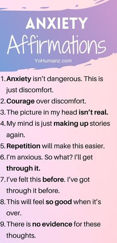33 Life-Changing Positive Affirmations for Anxiety