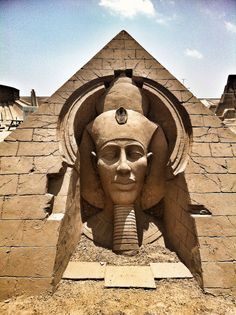 "The Temple of Amenhotep IV also known as Gempateen which translates to ""The Sun Disc is Found in the Estate of God Aten""."