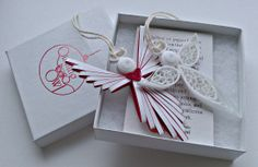 Quilling angels :) quill angel, quilling angel
