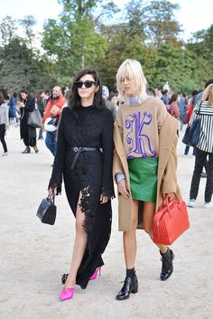 Eleonora Carisi and Linda Tol Street Style Blog, Street Style Women, Linda Tol, Paris Street, Fashion Photo, Latest Fashion Trends, Milan, Stylists, Punk