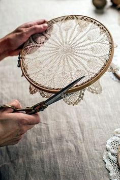 Whether it is a crocheted doily or a lace or paper doily, you can create some amazing home decor items with this Creative Doily Craft Ideas For You.