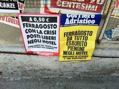 Ferragosto 2012 low cost...anche in Versilia. Chi resta a casa si diverte ad inventare dati sul turismo...http://www.menasantoro.it/last-minute/ferragosto-2012-low-cost/