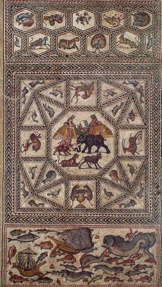 Ancient Roman Mosaic Revealed In Israel