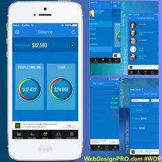 Loan Tracking App. #WebDesignPRO #loan #tracking #credit #app #mobile #design #appstore #new