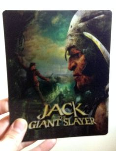 Jack the Giant Slayer Magnet 3D lenticular Flip effect for Steelbook