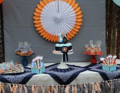 Cowgirl Dessert Table.