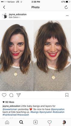 Medium Hair Styles, Natural Hair Styles, Short Hair Styles, Fringe Hairstyles, Messy Hairstyles, Hair Inspo, Hair Inspiration, Alternative Hair, Hair Brained