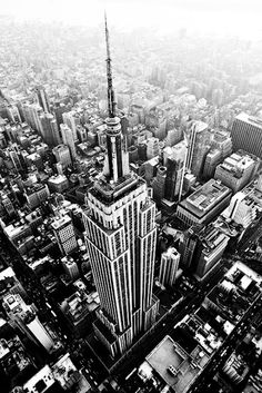 The Empire State Building is a must visit when your in NYC . . . it creates that New York state of mind!