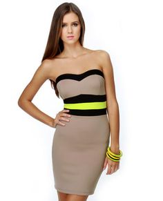 0e0b42122f9b Score a Women's Strapless Dress and Be a Style Star!   Strapless Cocktail  Dresses at Affordable Prices