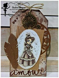 beascrapbooking: TAG STEAMPUNK- FEBRUARY INSPIRATION ALICIABEL CHALLENGE BLOG