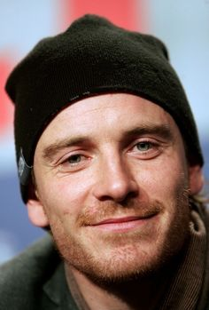 Michael Fassbender...such an amazing actor and so pretty. :)