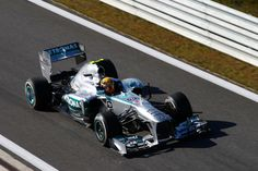 Hamilton in Practice Session 1 > Friday - Japanese GP > F1 2013