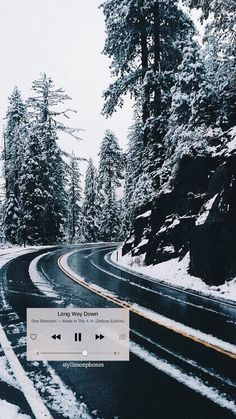 """Long Way Down"" Winter Lockscreen | ctto: @stylinsonphones"