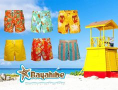 For men and boys, Bayahibe offers a wide range of swimsuits