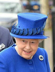 Queen Elizabeth II At Celebrations For The 40th Anniversary Of The Prince's Trust.