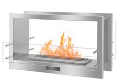 gel ethanol fireplace burner real fire for home decor