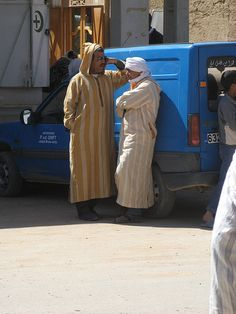 Men in conversation, Rissani, Morocco