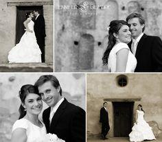 LDS bridal session, wedding dress, San Juan Capistrano Mission engagement photography ideas, Gilmore Studios
