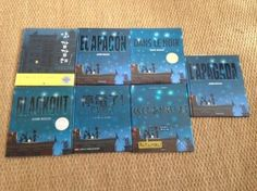 Foreign editions of 'Blackout' written & illustrated by John Rocco.