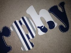 Ooo mmmmm gggg i love this cute nautical theme for a little boy. So doing this with my next son josiah!