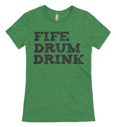 Fife Drum Drink Muster T-Shirt