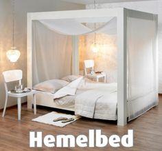 Rinske's blog: Geef je slaapkamer een boost: maak zelf een hemelbed