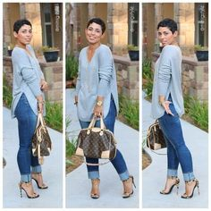 Sweater & Jeans plus size, Plus Size Street looks by Mimi G http://www.justtrendygirls.com/plus-size-street-looks-by-mimi-g/